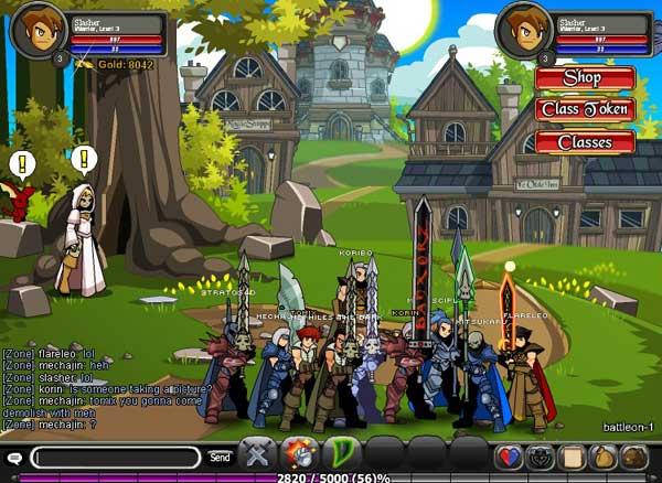 browser online gamesAdventureQuest Worlds
