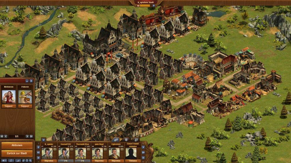 forge of empires browser game