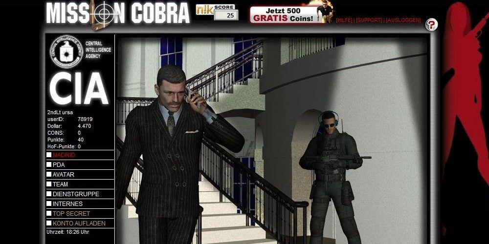 Mission cobra browser game for Cobra mission